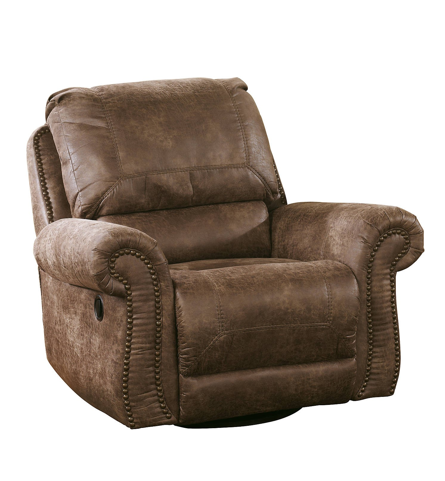 Super Oberson Swivel Glider Recliner Gallery Home Furnishings Alphanode Cool Chair Designs And Ideas Alphanodeonline
