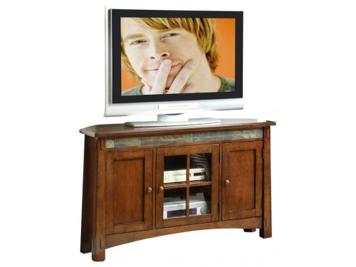 Craftsman Home Corner TV Console