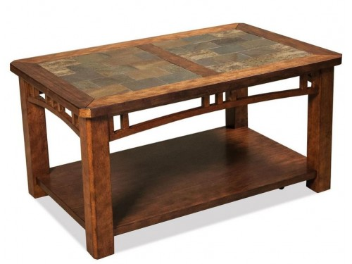 Preston Caster Coffee Table
