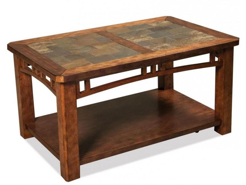 Preston Caster Coffee Table