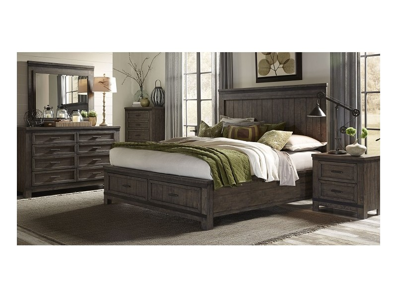 Thornwood hills bedroom collection gallery home furnishings for Thomas kincaid bedroom furniture