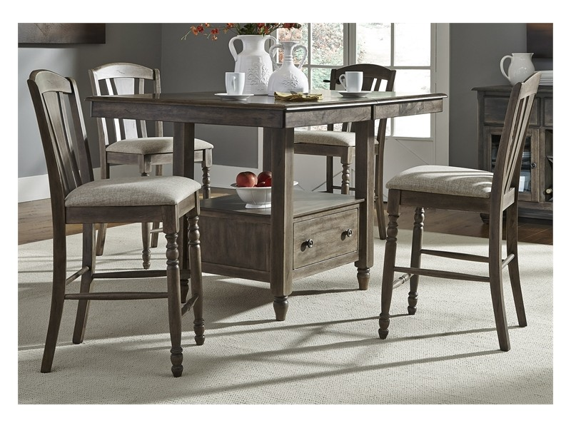 Candlewood Gathering Table Dining Set & Candlewood Gathering Table Dining Set - Gallery Home Furnishings