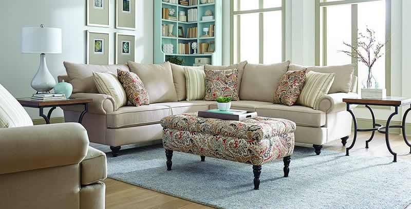Comfortable And Stylish American Made Living Room Furniture By England