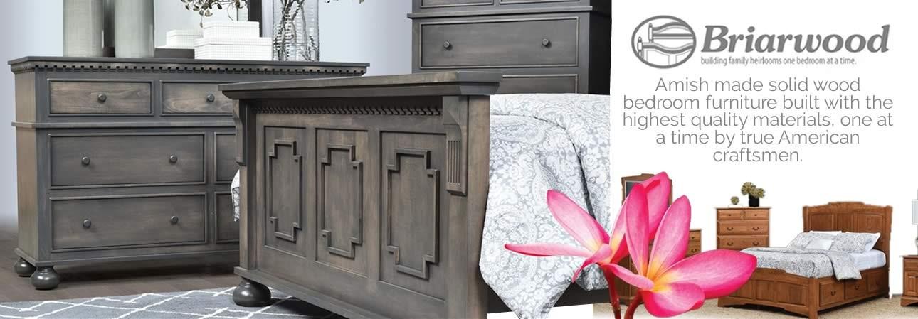 Briarwood Amish made bedroom furniture.